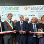 Autoridades durante a abertura da 21ª edição da Ecomondo / Key Energy