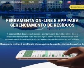 Plataforma online auxilia na gestão de resíduos
