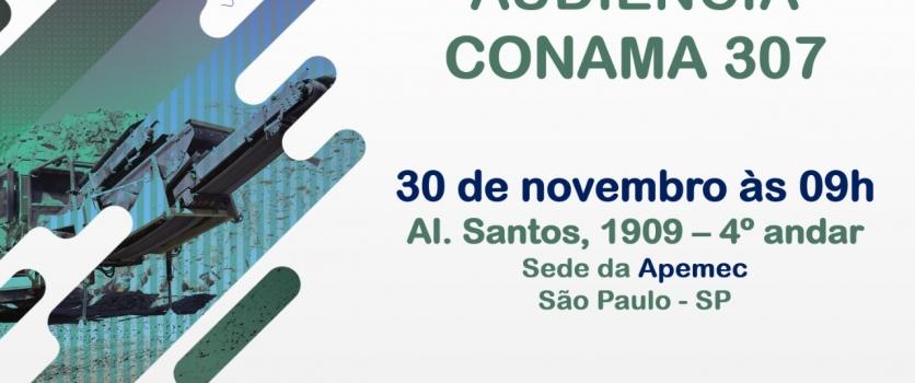 Alterações da resolução CONAMA  307 serão discutidas em São Paulo
