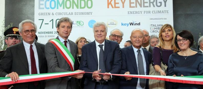 Começa a 21ª Ecomondo / Key Energy, em Rimini, Itália