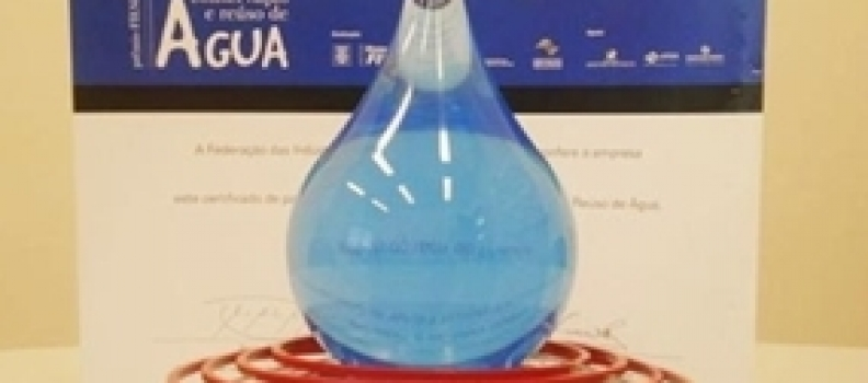 Fiesp abre inscrições para o 14º Prêmio de Conservação e Reúso de Água