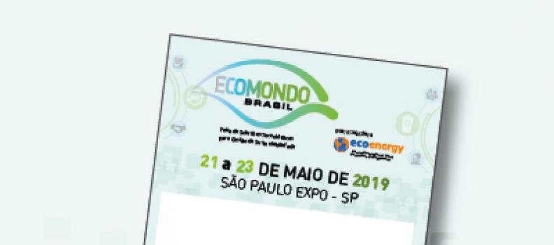 ESTÁ ABERTO O CREDENCIAMENTO PARA VISITANTES DA ECOMONDO BRASIL 2019